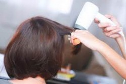 Hair wash with Set Blow Dry