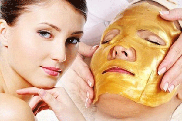 Gold facial process