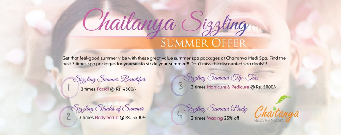 Chaitanya Sizzling Summer Offer