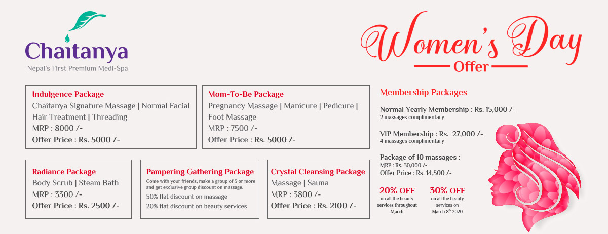 Women's Day Special Offer