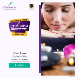 One Time Dashain Offer in Chaitanya Signature Massage !