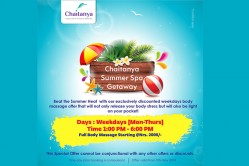Chaitanya Summer Spa Getaway Offer