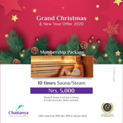 Grand Christmas & New Year Offer