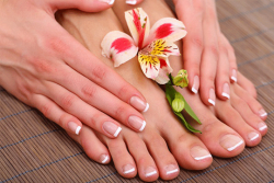Sizzling Summer Tip Toes :------ 3 times Manicure & Pedicure Package